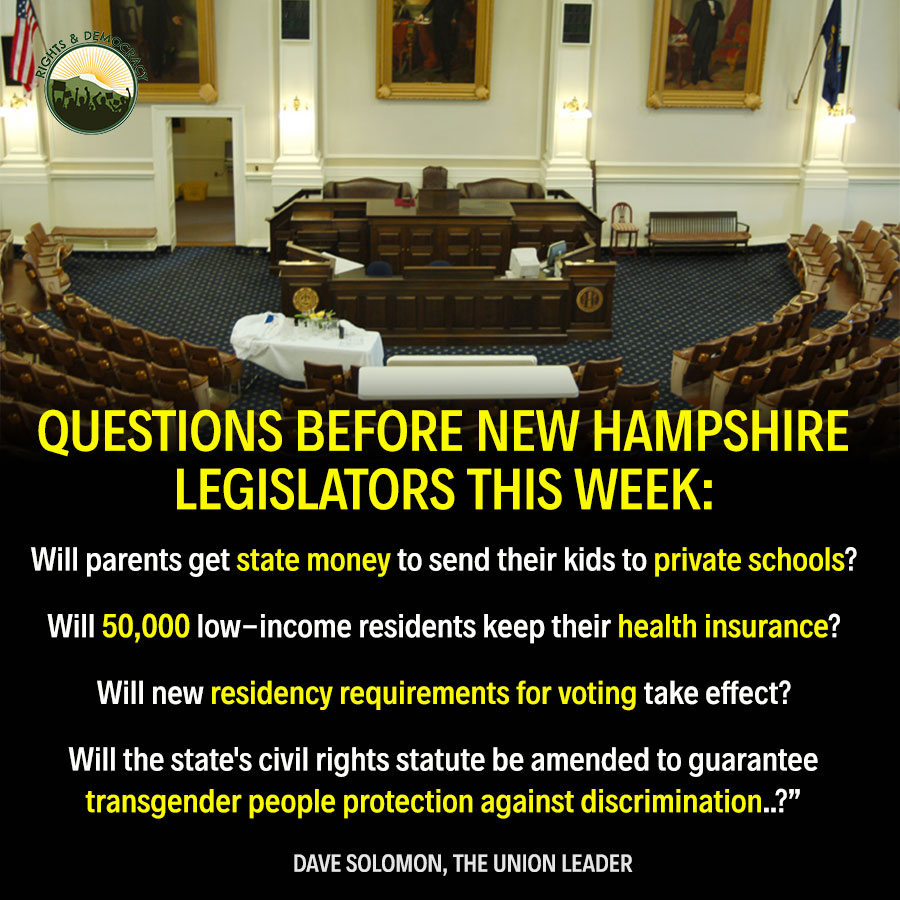 Make 2 Calls to Help With 4 Critical Bills This Week NH